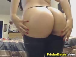 latina ideal round ass