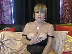 full mature woman exposing