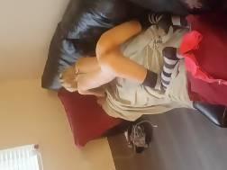 sexual skinny teen filmed