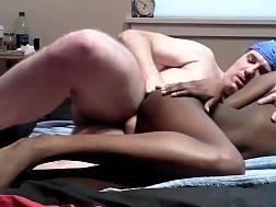 dark skinned chick gets