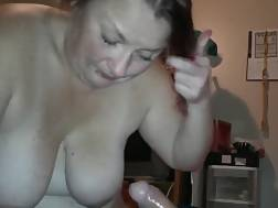 curvy amateur wifey swallow