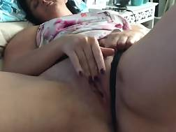 mature girlie bed touching