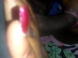 huge black plump sloppy