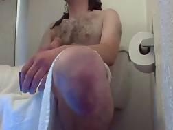 amateur couple drilling wc