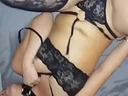 girl sexual underwear enjoys