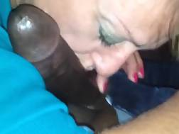 woman shows amazing dick
