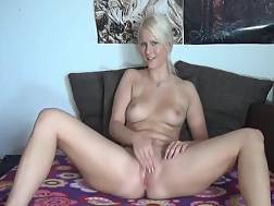 gorgeous blond girl takes