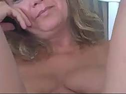 mature blonde housewife flashing