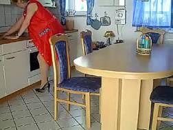 playing mature slut kitchen