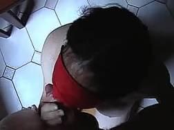blindfolded petite german wifey