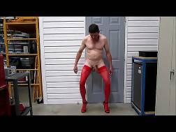 bitch wearing stockings heels