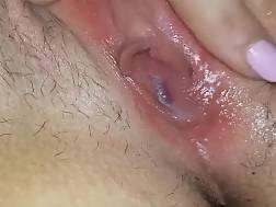 exposing tight sloppy cunt