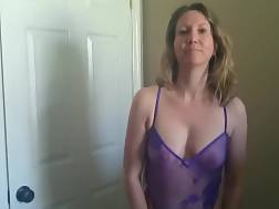 mature wifey undresses &
