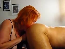 showing sucking & licking