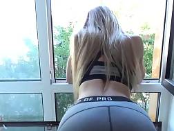 yoga pants make naughty
