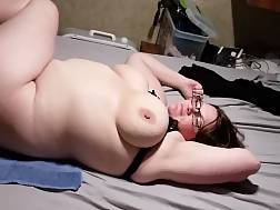 bbw gets penetrated bedroom