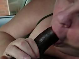 sucking car sexy mature