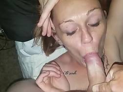 pecker hungry wife deepthroats
