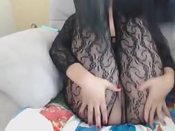 beautiful boobed girl tights
