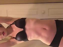 petite skinny girl teasing
