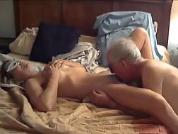 older couple filmed first