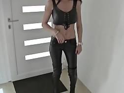tattooed german girl leather