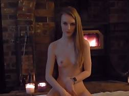 skinny nymph home alone