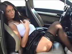 Slutty mom naked in car consider