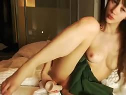 sweet schoolgirl using hard
