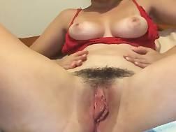 nymph using toys pleasure