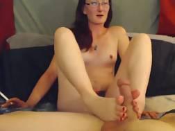 gave footjob getting penetrated