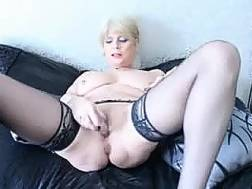 blonde creamy mother wife