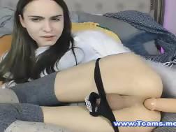 boobed ladyboy nymph masturbating