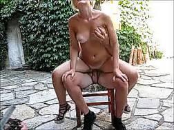 mature blonde wifey wants