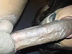 pretty t-girl slut sucking