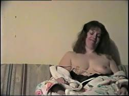 wife playing tits