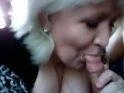 cock sucking car blonde