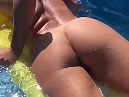 beautiful nymph jerking nude