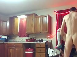 amateur couple makes homemade