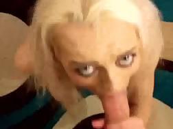 sexy blonde easily deep