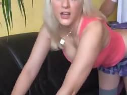 & penetrating lovely blonde