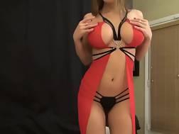 teasing boobed bombshell sexual