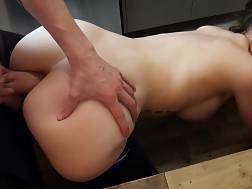 cute darkhaired throbbing butthole
