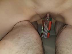 shaved pussy & blowing