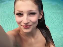 playing pool getting nude