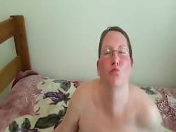 filming naked fat wife