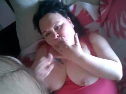 busty fat babe blowing