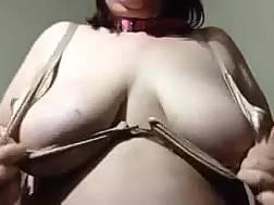 enormous tits pale skin