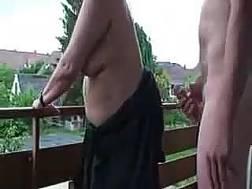 chubby neighbour enjoys rear