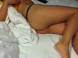 petite asian wifey teases